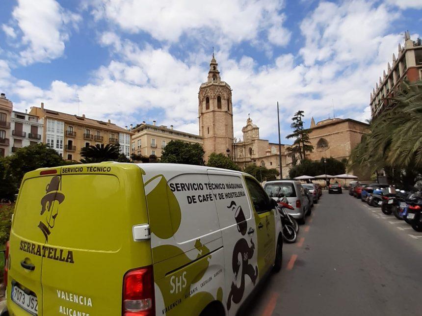Mantenimientos por el centro de Valencia