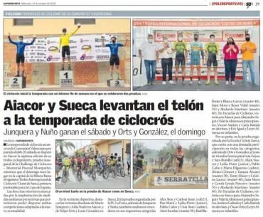 Serratella, en la primera ciclocrós de España de 2020