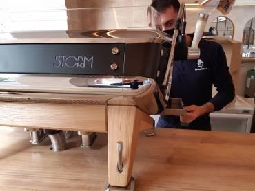 Instalación de máquinas de alta gama – ASTORIA Storm