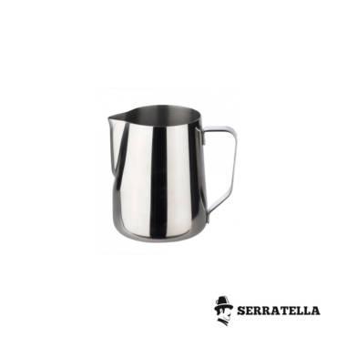 ¿Por qué la jarra de la leche es de acero inoxidable?
