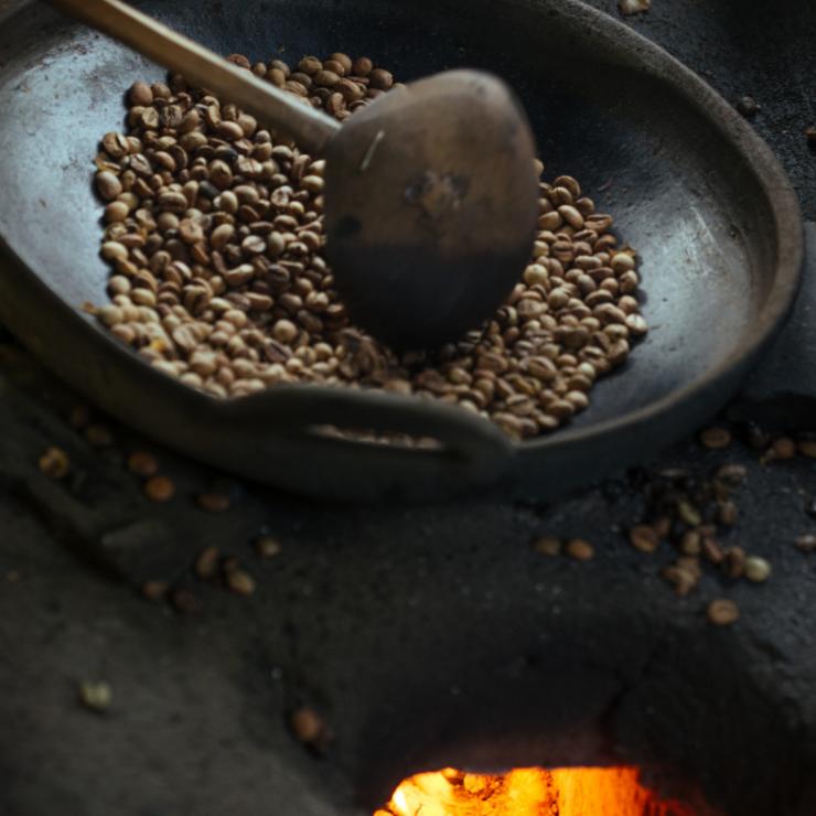 Modificaciones físicas del café durante el tueste